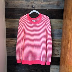 🌻 3/20$ Forever 21 Pink/White Striped Sweater